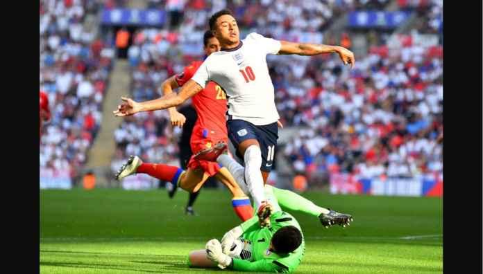 Hasil Inggris vs Andorra: Lingard, Kane, Saka Selamatkan Wajah Three Lions Dengan 4 Gol