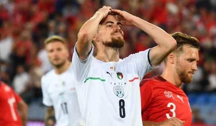 Rekor Sempurna di Timnas Italia Rusak Usai Jorginho Gagal Penalti Kontra Swiss