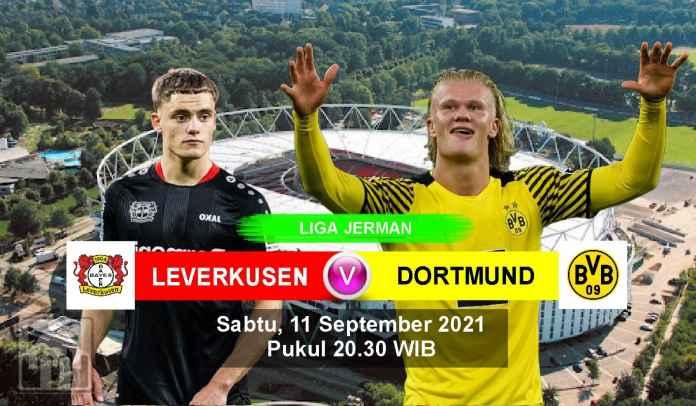 Prediksi Leverkusen vs Dortmund, Pekan Keempat Liga Jerman, Sabtu 11 September 2021