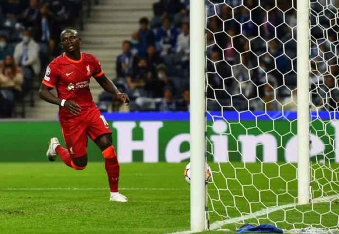 Sadio Mane Masuk Jajaran Elit Liverpool Berkat Satu Golnya ke Gawang Porto