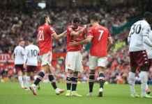 Begini Reaksi Cristiano Ronaldo Usai Fernandes Gagal Cetak Penalti ke Gawang Aston Villa