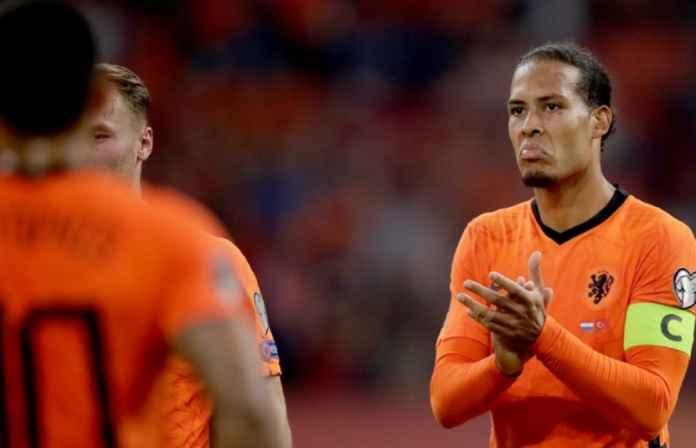 Liverpool Lega Virgil van Dijk Terhindar dari Cedera di Timnas Belanda