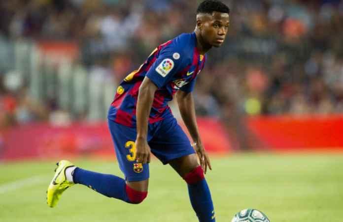 Barcelona Dilangkahi, Agen Tawarkan Ansu Fati ke Manchester City