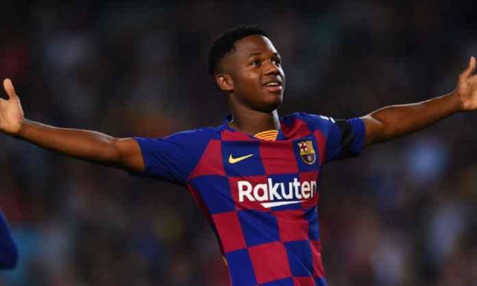 Ansu Fati Ajukan Syarat Ini pada Barcelona Sebelum Terima Warisan Lionel Messi