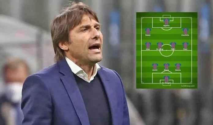 Bek Buangan Barcelona Dapat Panggung Lagi Jika Conte Gantikan Koeman, Begini Lineup-nya