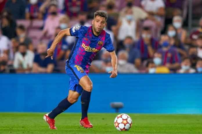 Barcelona Kehilangan Jordi Alba Usai Dipaksa Bermain Kontra Bayern Munchen