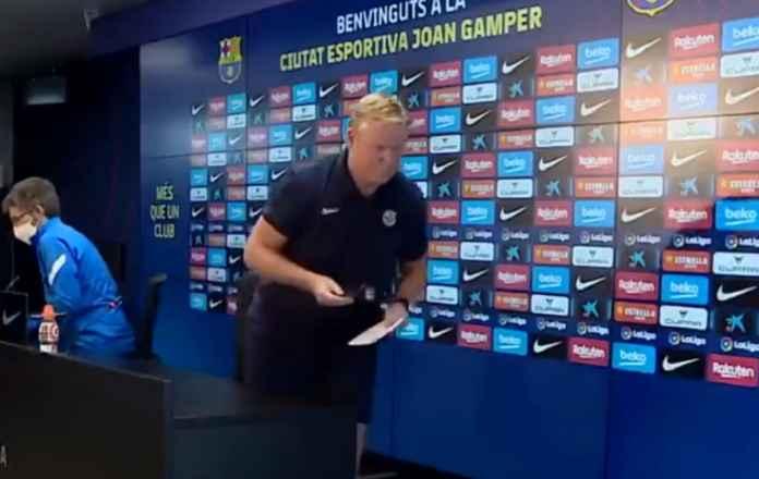 Ronald Koeman Gelar Konpres Jelang Cadiz vs Barcelona Hanya Tiga Menit, Langsung Ngeloyor Pergi