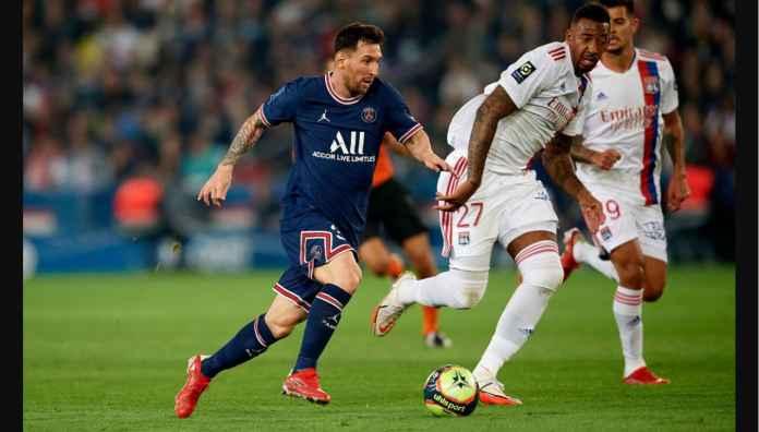 Hasil PSG vs Lyon: Messi Belum Kunjung Bikin Gol, Ronaldo Sudah 4 Gol Dari 3 Laga