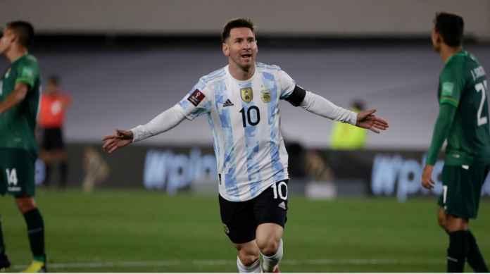 Hasil Argentina vs Bolivia: Sesulit Apapun Kasih Bolanya ke Messi, Kasih Lagi ke Messi