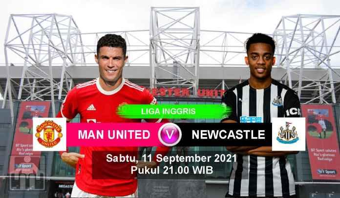 Prediksi Manchester United vs Newcastle, Pekan Keempat Liga Inggris, Sabtu 11 September 2021