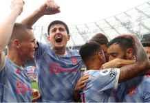 Drama Kuras Emosi Man United di Detik-detik Terakhir Laga Premier League di West Ham