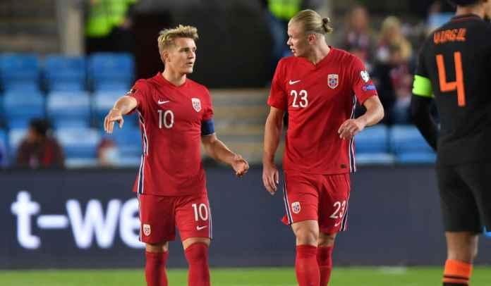 Gelandang Arsenal Tunjukkan Karakter Kepemimpinannya Saat Bersama Timnas Norwegia