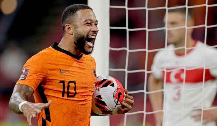 Hattrick Gol Untuk Belanda Antar Memphis Depay Kini Samai Rekor Johan Cruyff