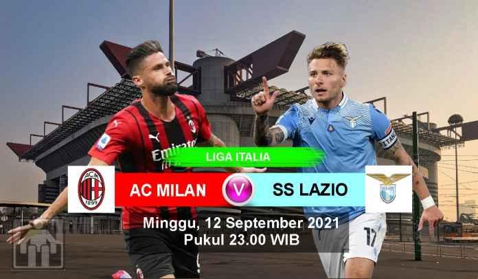 Prediksi AC Milan vs Lazio, Pekan Ketiga Liga Italia, Minggu 12 September 2021