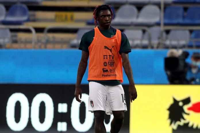 Moise Kean Masih Diragukan untuk Juventus