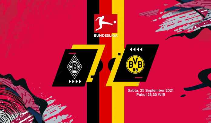 Prediksi Monchengladbach vs Dortmund, Pekan Keenam Liga Jerman, Sabtu 25 September 2021