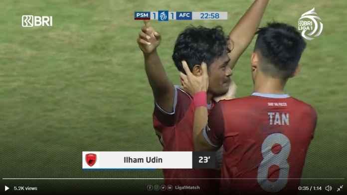 Hasil PSM Makassar vs Arema: Singo Edan 10 Pemain Pun, Juku Eja Gagal Menang