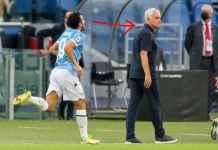 Hasil Lazio vs Roma, Pedro Cetak Gol dan Merayakannya di Depan Mourinho