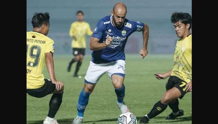 Hasil Persib Bandung vs Barito Putera, Si Maung Butuh Gol Menit 86 Untuk Menang