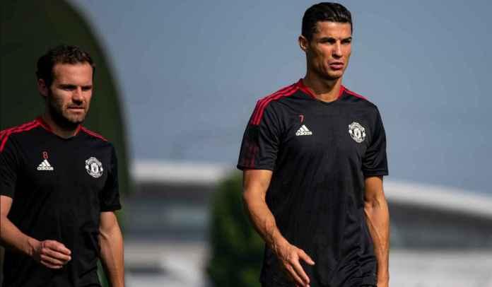 Cristiano Ronaldo Habiskan Hari Pertama di Kamp Latihan Man Utd di Carrington