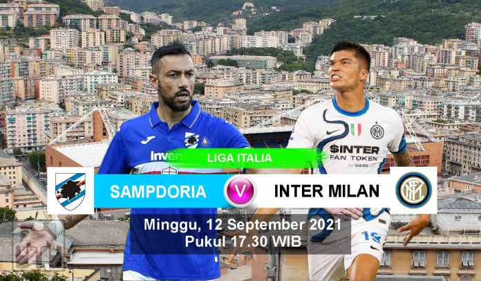 Prediksi Sampdoria vs Inter Milan, Pekan Ketiga Liga Italia, Minggu 12 September 2021