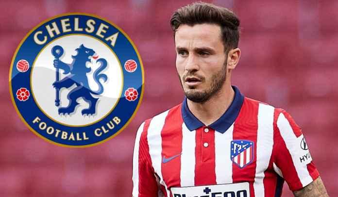 DEADLINE TRANSFER : Chelsea RESMI Amankan Tanda Tangan Saul Niguez dari Atletico