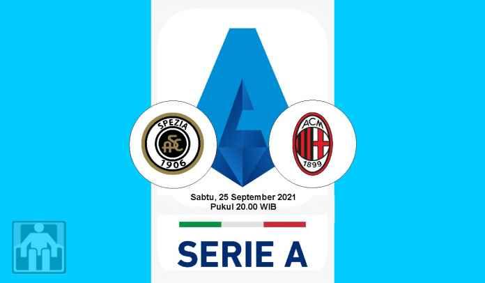 Prediksi Spezia vs AC Milan, Pekan Keenam Liga Italia, Sabtu 25 September 2021