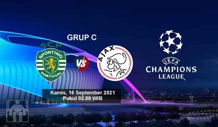 Prediksi Sporting Lisbon vs Ajax, Fase Grup Liga Champions, Kamis 16 September 2021