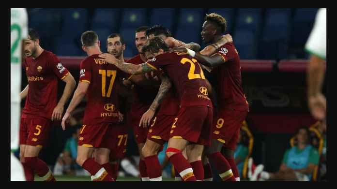 Hasil Roma vs Sassuolo Tadi Malam Jadi Perayaan Laga ke-1000 Mourinho