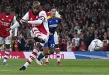 Hasil Arsenal Tadi Malam, Lolos 16 Besar Berkat Gol Lacazette, Smith Rowe dan Nketiah