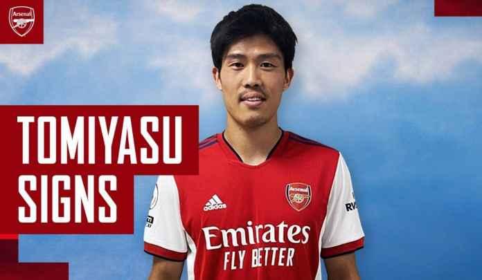 DEADLINE TRANSFER : Arsenal Dapat Bek Tengah Baru, Takehiro Tomiyasu dari Jepang