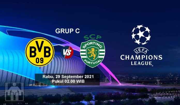 Prediksi Dortmund vs Sporting CP, Fase Grup C Liga Champions, Rabu 29 September 2021