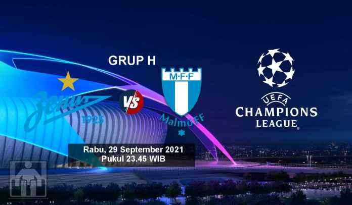 Prediksi Zenit St. Petersburg vs Malmo, Fase Grup H Liga Champions, Rabu 29 September 2021