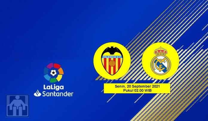 Prediksi Valencia vs Real Madrid, Pekan Kelima Liga Spanyol, Senin 20 September 2021