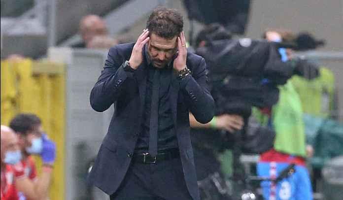 Diego Simeone Akui Milan Lebih Unggul Hingga Kartu Merah Franck Kessie Ubah Situasi