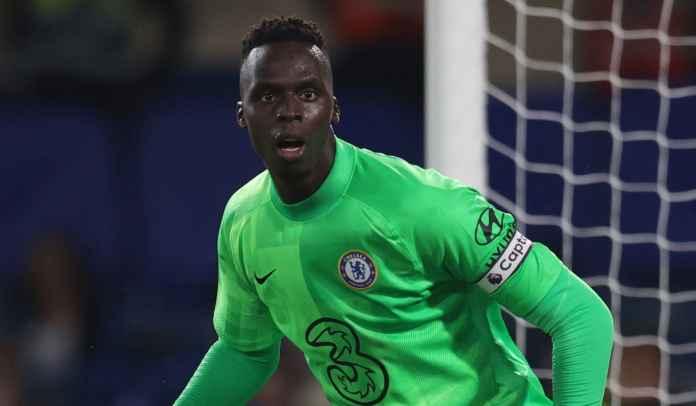 Ini Alasan Edouard Mendy Absen Selama Laga Chelsea Kontra Tottenham Hotspur