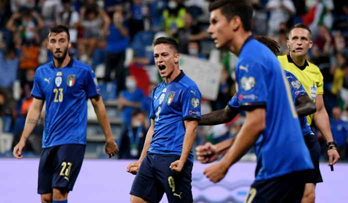 Komentar Para Pencetak Gol Italia Usai Kemenangan 5-0 Atas Lithuania Tadi Malam