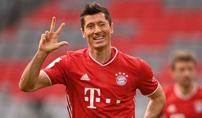TAK TERBENDUNG! Lewandowski Sudah 119 Gol Dalam 100 Penampilan Untuk Bayern
