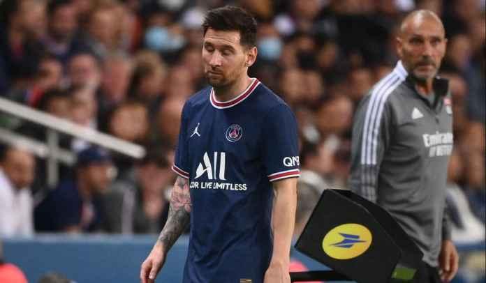 RESMI : Lionel Messi Cedera Lutut, Dipastikan Absen Bela Paris Saint-Germain vs Metz