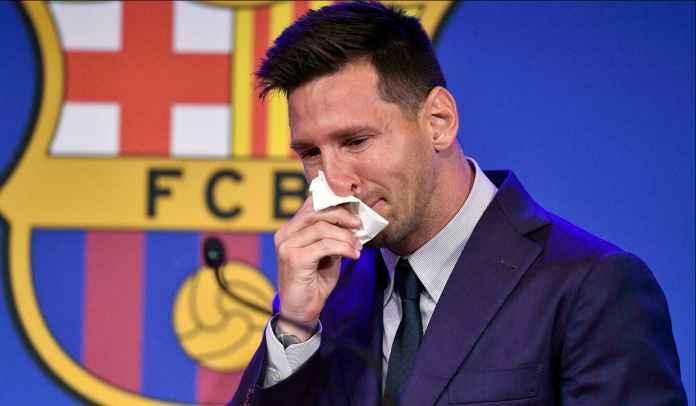 Javier Tebas Tuding Barcelona Lepas Lionel Messi Bukan Karena Faktor Ekonomi