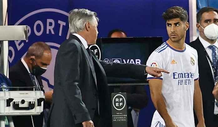 Marco Asensio Tak Senang Sekarang Jadi Cadangan, Begini Komentar Carlo Ancelotti