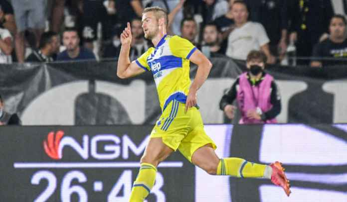 Komentar Matthijs de Ligt Usai Golnya Beri Kemenangan Perdana Bagi Juventus