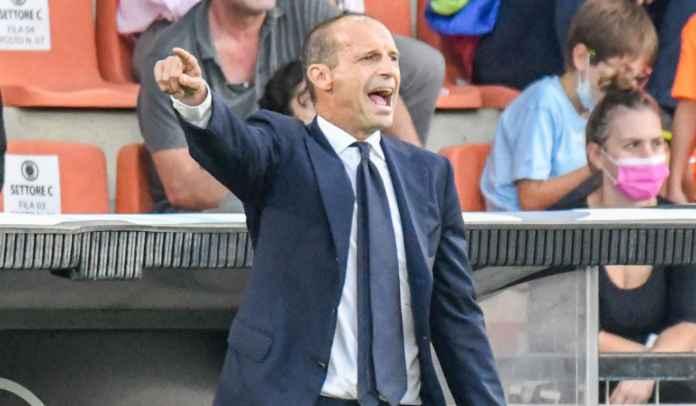 Massimiliano Allegri Lega Juventus Beruntung Akhirnya Bisa Raih Kemenangan Perdana