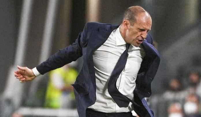 Terkuak Video Kemarahan Max Allegri Pada Pemain Juventus Saat Ditahan Imbang Milan