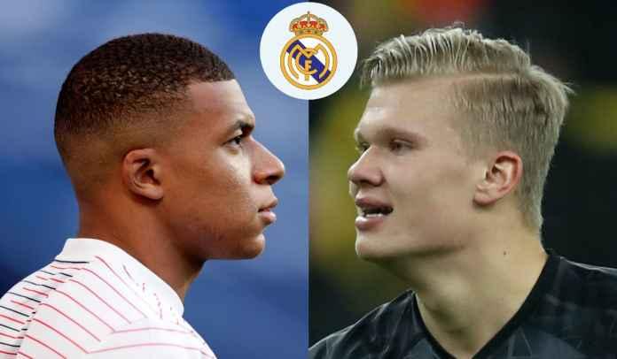 Real Madrid Punya Uang Untuk Borong Kylian Mbappe & Erling Haaland Tahun Depan