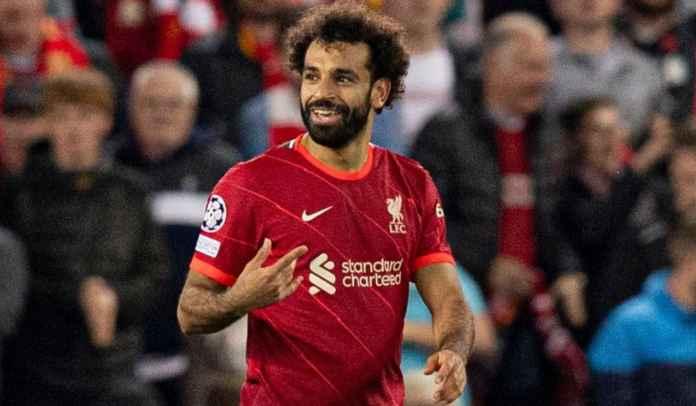 Satu Gol Tadi Malam Antar Mohamed Salah Samai Rekor Legenda Liverpool Steven Gerrard