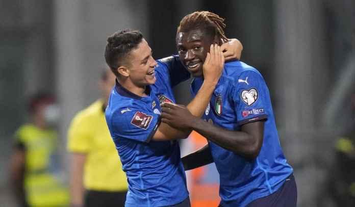 Cetak Gol, Moise Kean & Giacomo Raspadori Punya Kesempatan ke Piala Dunia 2022