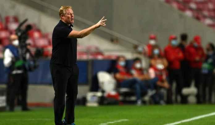 Barcelona Kalah Telak di Benfica, Ronald Koeman Mengaku Masih Didukung Para Pemain