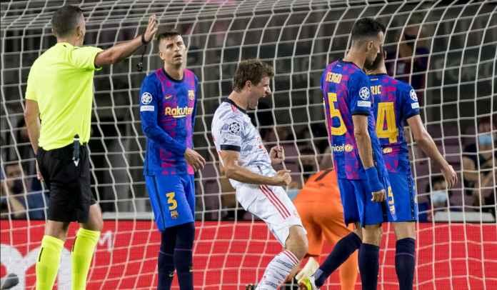 Barcelona, Lawan Favorit Thomas Muller di Liga Champions, Sudah Tujuh Gol Dalam Enam Laga!