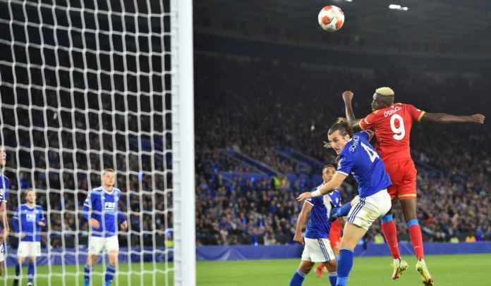 Victor Osimhen Banggakan Permainan Tim Napoli Saat Imbangi Leicester City